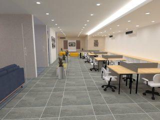 Desain Interior Kantor Marketing Atmajaya Jakarta