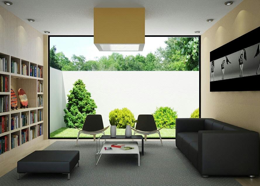Tips membuat desain interior rumah minimalis persada for Design interior rumah villa