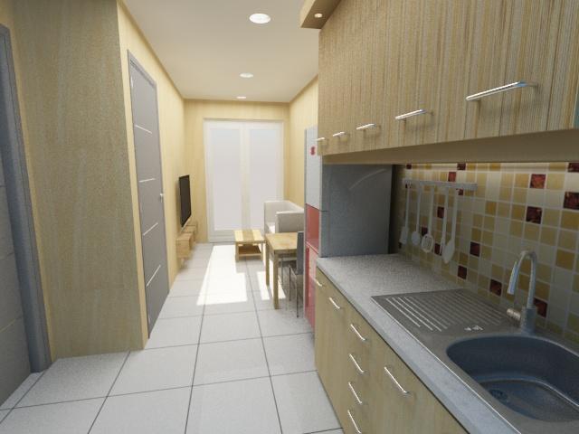 desain interior apartemen 5