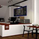desain interior cafe minimalis modern BSD